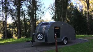 subaru camping trailer tear drop camper trailer youtube