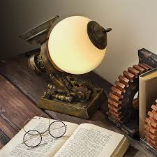 Steampunk Desk Lamp Steampunk Desktop Decor And Gifts