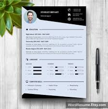 modern resume format 2016 modern resume template with photo cover letter stanley bryant