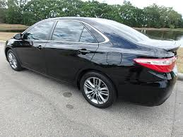 toyota camry 2015 used toyota camry 4dr sedan i4 automatic se at central
