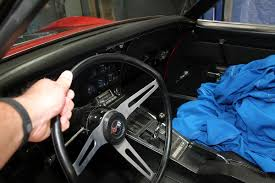 1968 corvette steering column flaming river and billet specialties team up to set our c3