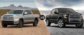 truck toyota tundra 2016 toyota tundra vs 2016 ford f 150