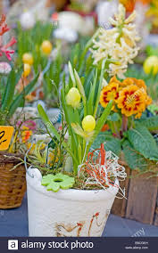 easter egg ornaments easter egg ornaments as flowers small easter eggs are inserted in