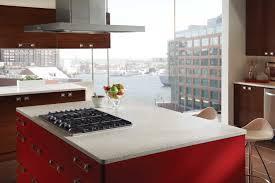 Black Faucets Kitchen Granite Countertop Cabinet Hood Frigoverre Microwave Backsplash