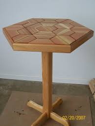 Cedar Table Top by Hexagon Shaped Cedar Table By Devann Lumberjocks Com