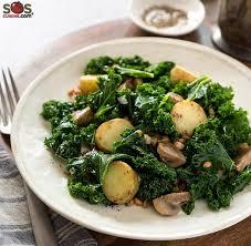 cuisiner le choux sauté de topinambour et chou kale une recette soscuisine