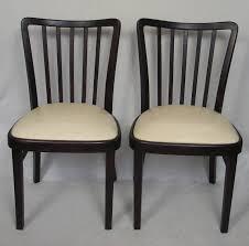 Esszimmer 30er Jahre 2 Thonet Esszimmer Stühle Nr 52 Palisander Nussbaum Dkl