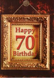 happy 70th birthday greeting card blank inside cards love kates