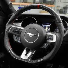 mustang steering wheels sve mustang x550 steering wheel carbon fiber 15 17