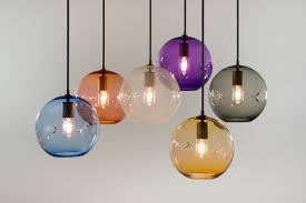 Blown Glass Pendant Lighting Blown Glass Pendant Lights Related To Interior