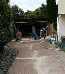 Refinishing Concrete Patio New Solution For Cracked Concrete Driveways Patio And Paths