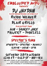 biggest halloween party london embodied audio u0027s embloodied halloween party ft jaydan playaz
