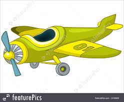 cartoon airplane illustration