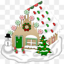vector winter house street lights building png and vector for