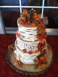 fall wedding picture of awesome fall wedding cakes