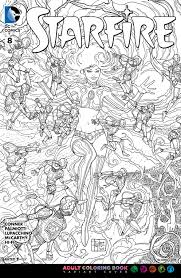 image starfire vol 2 8 coloring book variant jpg dc