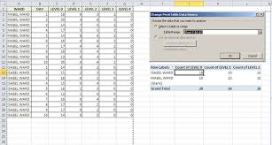 Change Pivot Table Data Range How To Change Pivot Table Fields To Sum Function