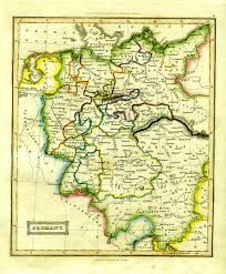 Map Of Belgium And Germany Antique Maps Of Germany