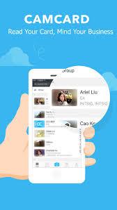 Business Card Reader Scanner Camcard Lite Business Card Scanner U0026 Reader App Store Revenue
