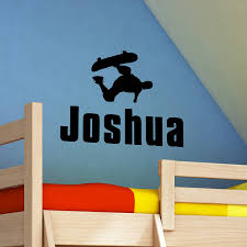 100 childrens personalised wall stickers personalised childrens personalised wall stickers name sticker for wall