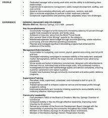 Restaurant General Manager Job Description Resume by 100 Restaurant Manager Job Description Resume Operations