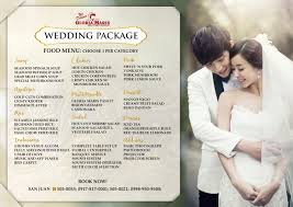 wedding packages wedding banquet reception rooms498