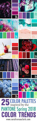 spring color 25 color palettes inspired by the pantone spring 2018 color trends