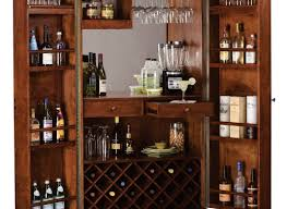Crosley Bar Cabinet Noticeable Antique Wood Wine Cabinet Tags Reclaimed Wood Bar