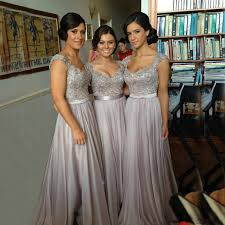 silver plus size bridesmaid dresses prom dresses 2017 picture more detailed picture about bw9151