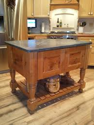 Wood Island Kitchen by Kitchen Island Design For Remodeled 1800 U0027s Farm House Osborne