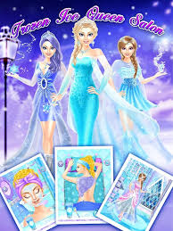 frozen ice queen salon android apps google play