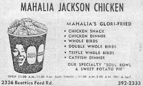 Babysitting Jobs In Memphis Tn Glori Fried And Glori Fied Mahalia Jackson U0027s Chicken Southern