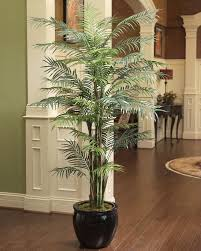7 artificial reed palm silk tree at petals