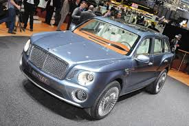 bentley exp 9 f price bentley boss says company chose suv over a sports car to avoid