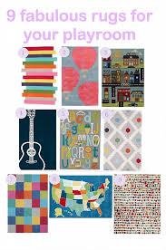 Playroom Area Rug 9 Fabulous Area Rugs For Your Playroom Big City