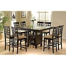 Lazy Susan Dining Room Table Coaster Home Furnishings 9 Counter Height