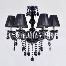 Crystal And Black Chandelier Beautiful Black Chandelier Light Fashion Style Chandeliers Crystal