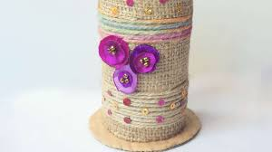 Creative Vase Ideas How To Recycled Tissue Paper Roll Vase Diy Crafts Tutorial