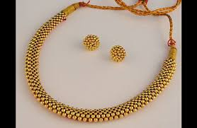 gold necklace types images Beautiful types of traditional and contemporary indian gold jewellery jpg