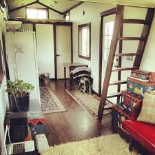 a 300 square feet tiny house on wheels in ridgefield washington