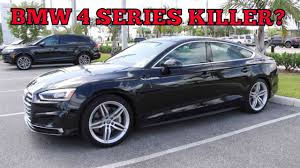is lexus or audi better the 2018 audi a5 sportback better than the bmw 4 series youtube