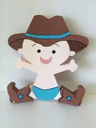 baby boy cowboy styrofoam polystyrene cowboy baby