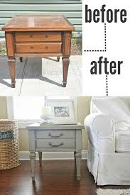 Diy Round End Table by Best 25 End Tables Ideas On Pinterest Decorating End Tables