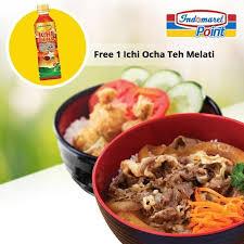 Teh Ichi Oca sudah coba menu yang satu ini sekarang gratis 1 ichi ocha teh