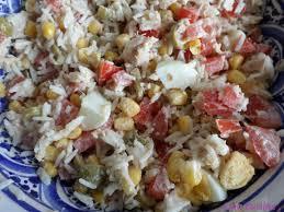 cuisine salade de riz salade de riz facile aujourd hui c est oummi qui cuisine