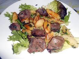 cuisiner les gesiers recette de gesiers confits pommes de terre ail et persil