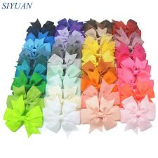grosgrain ribbon bulk express shipping 1000pcs lot 3 grosgrain ribbon bow knot fabric