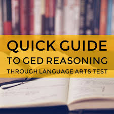 ged reasoning through language arts practice test ged study guide