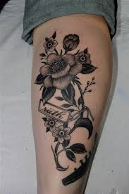 Leg Flower - black flowers leg design in 2017 photo pictures