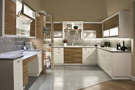 Zebra Wood Kitchen Cabinets by Kitchen Gallery Phillips Flooring America